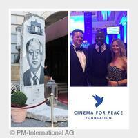 PM-International AG als einer der Hauptsponsoren der Cinema for Peace-Foundation in Berlin