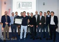 """Preisverleihung """"Fintech Startup des Jahres"""" bei Sutor Bank"""