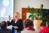 Begeisterte internationale Teilnehmer beim Workshop mit Dr. Renee Moore