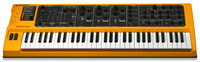 Studiologic sledge 2.0: Neuauflage des Synthesizers im Retro-Look bietet 24-stimmige Polyphonie, gleichzeitige Nutzbarkeit von zwei Sounds & mehr
