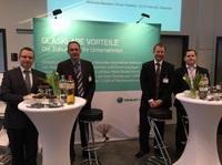 GlobalConnect informiert über seine Glasfaser Highspeed Internet Verbindungen auf der Fair4Business Messe in Neumünster