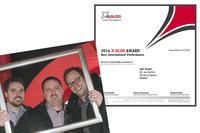 Skywalk verleiht X-GLOO-Award