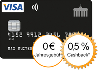Deutschland Kreditkarte - Cashback-Aktion ab sofort verlängert!