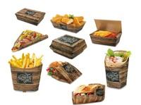 Enjoy your Meal - Moderne Fast Food & Snack To Go Verpackungen