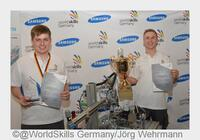 Techniktalente beeindrucken mit WM-reifen Leistungen auf der didacta