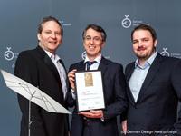 Sonnenschirm Knirps Oasis beim German Design Award ausgezeichnet