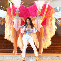 Perfektes Entertainment-Große Las Vegas Show in Niedernhausen
