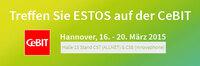 ESTOS präsentiert auf der CeBIT 2015 erstmals sein neues Serviceprogramm an begleitenden technischen Dienstleistungen