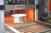 Infrarot-Strahler sparen Energie beim Pulverlackieren von Alufelgen