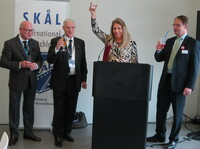 ITB 2015: Skål-Mitglieder aus 17 Nationen gaben dem Touristikernetzwerk ein Gesicht
