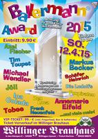 Party- und Entertainmentpreis - Ballermann Award 2015