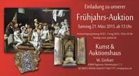 Frühlingsauktion am 21. März 2015 im Auktionshaus Ginhart
