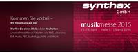Synthax auf der Musikmesse 2015: Premieren und Messe-Highlights bei RME, Ultrasone, Studiologic, IsoAcoustics, MicW und vielen mehr