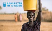 1.000 Bio-Sand-Wasserfilter für Uganda in 10 Tagen