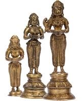 Glücksgöttin Lakshmi - die Statue für Wohlstand, Freude und Stärke