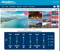 Neues Online-Inspirationstool auf ebookers.de ermöglicht Unentschlossenen, ihr Traumreiseziel zu finden