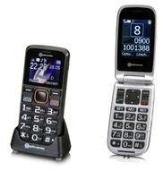 Einfach zu bedienende Handys von amplicomms - nicht nur für Senioren - jetzt auch mit Quadband für weltweite Erreichbarkeit