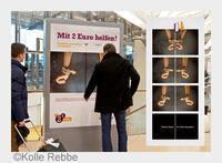 Kampagne des Jahres: Misereor gewinnt Airport Media Award 2014