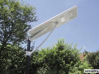 Damit niemand im Dunkeln tappt: LED-Solarlampe von euroLighting