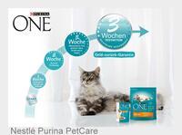 PURINA ONE 3-Wochen-Testaktion: Neuartig und außergewöhnlich