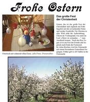 Presseweller: Frohe-Ostern-Magazin und Siegerländer Gerichte
