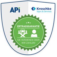Die Digitalannahme mit Ertragsgarantie von APi & Kroschke!