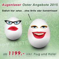 Günstig Augenlasern zu Ostern in Istanbul