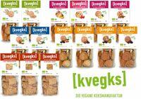 """kvegks erweitert sein pikantes veganes Knabbersortiment um """"Indisch"""" und """"Curry"""""""