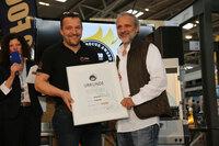 Roaring Dragon Wok-Brenner gewinnt Silbermedaille beim Fire&Food Award 2015