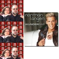 Roland Rube und Ariane Kranz On Air mit Norman Langen