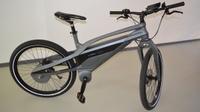 Kettenloses Fahrrad auf der Hannover Messe