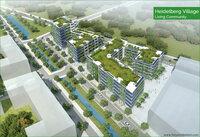 Heidelberg Village: nachhaltige Architektur in einem vitalen Stadtquartier
