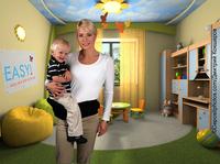 Mit Blick auf das Wesentliche: Die Babytrage von EASY!