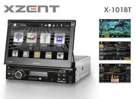 Multimedia für jeden 1 DIN Schacht - Xzents Moniceiver X-101BT