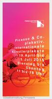 """""""Picasso & Co. plakativ"""" in Pirmasens"""