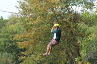 Nervenkitzel in Rockford: Die Ziplining-Saison 2015 hat eröffnet