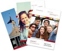 Druckfrisch eingetroffen: Die ec.se-Kataloge für das High School-Jahr 2016/17