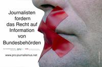 Petition - Journalistenzentrum Deutschland fordert Bundesgesetz zum Recht auf Informationen für die Presse