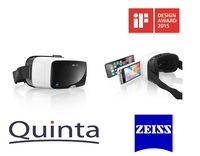 Quinta distribuiert die ZEISS VR One Virtual Reality Brille