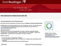 Stadt Reutlingen setzt auf cit-Architektur für erweitertes E-Government-Angebot