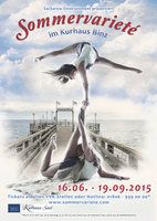 Sommervariete - Die Variete Show im Ostseebad Binz Rügen