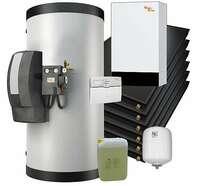 Citrin Solar: Gas-Brennwerttherme optimiert für Solarthermie
