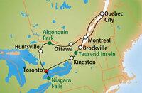 """Rundreise an die Ostküste Kanadas zum """"Indian Summer 2015"""""""