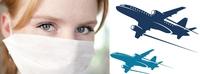 Ansteckungsrisiko im Flugzeug und auf Reisen