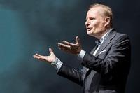 Zeitmanagement-Experte Lothar Seiwert auf dem National Achievers Congress in Stuttgart
