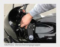 """""""Diebstahlschutz für Motorräder und Mofas"""" - Verbraucherinformation der ERGO Versicherung"""