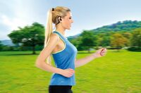 auvisio Spritzwassergeschütztes Bluetooth 4.1 Sport-Headset