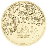 Münze Österreich prägt Life Ball Medaille 2015