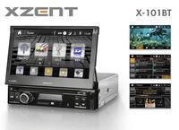 Multimedia for every 1-DIN slot: the Xzent Moniceiver X-101BT