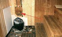 """Brandgefahr: """"Die Sauna ist keine Abstellkammer"""""""